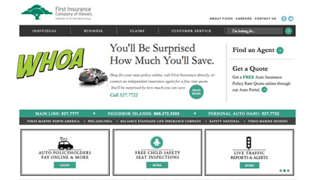 First Insurance Co. - Redesign