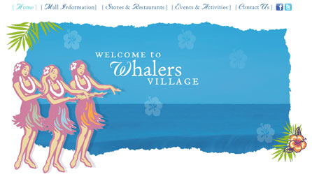 Whalers Village - Redesign